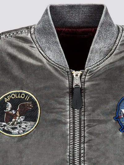 MA-1 APOLLO BATTLEWASH BOMBER JACKET (SEASONAL) SALE Alpha Industries