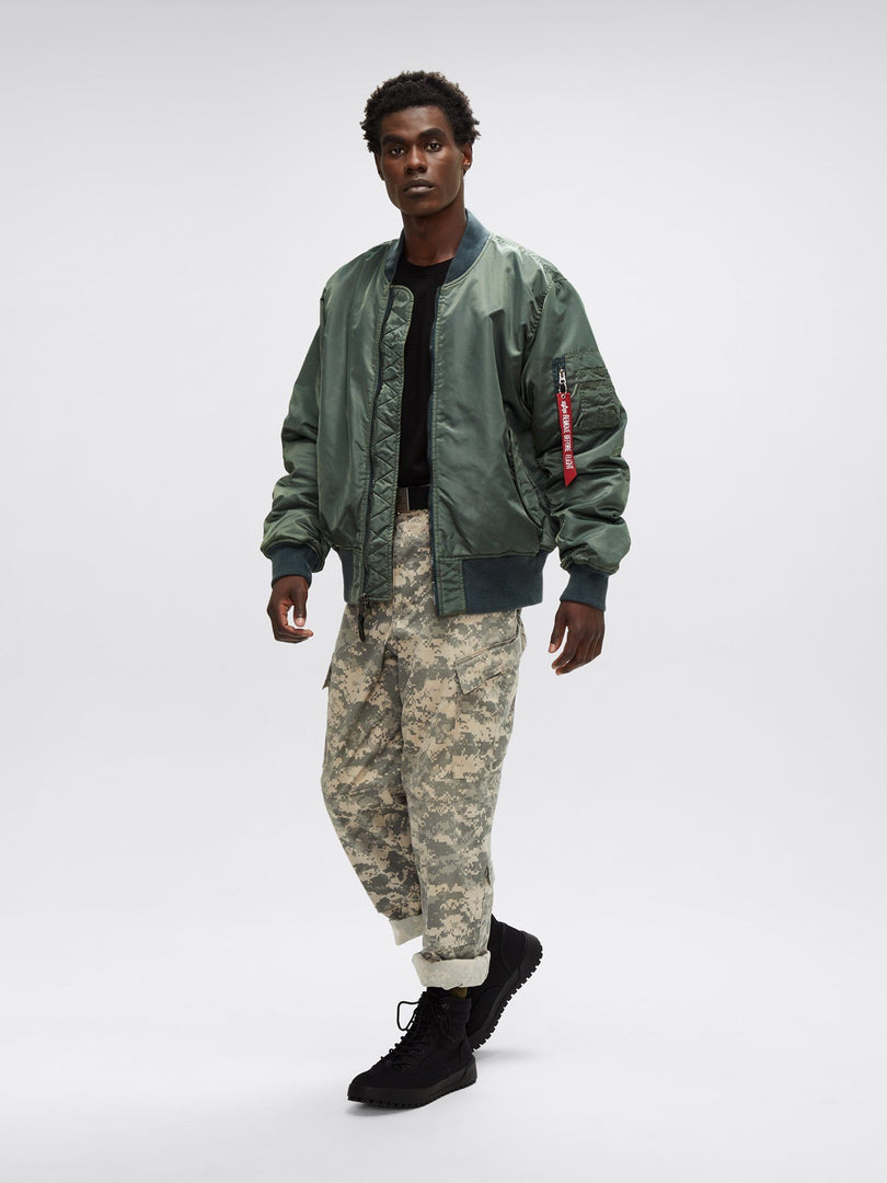 MA-1 BATTLEWASH FLIGHT JACKET OUTERWEAR Alpha Industries, Inc.