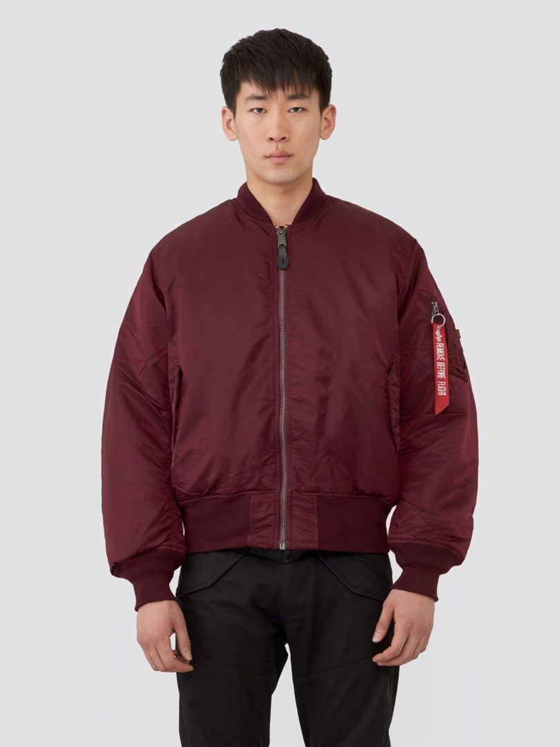 MA-1 BOMBER JACKET (SEASONAL) SALE Alpha Industries MAROON XS