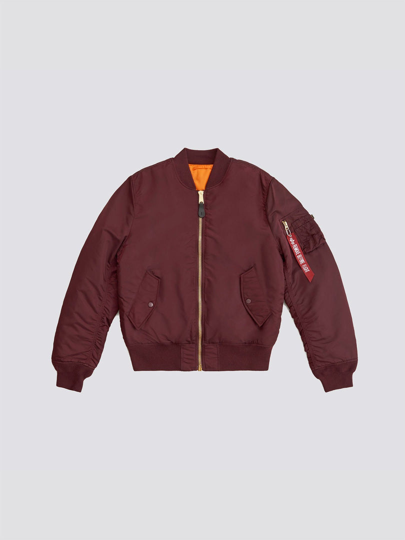 MA-1 BOMBER JACKET SLIM FIT/EUROPEAN FIT (SEASONAL) OUTERWEAR Alpha Industries