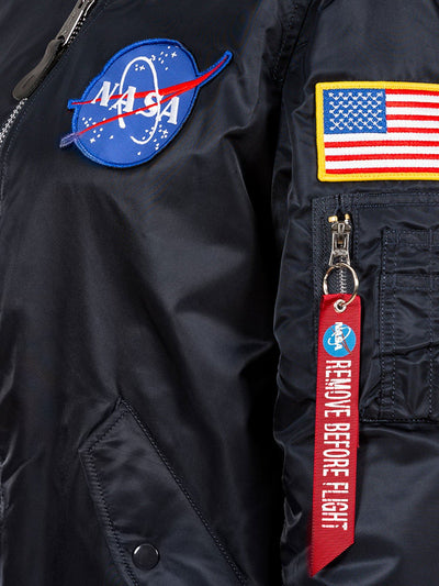 MA-1 HOODED NASA BOMBER JACKET OUTERWEAR Alpha Industries