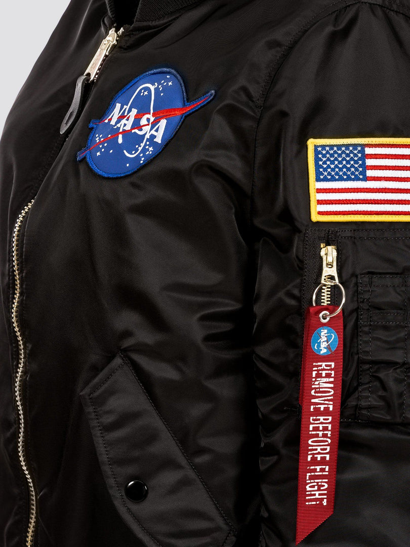 MA-1 HOODED NASA BOMBER JACKET W OUTERWEAR Alpha Industries