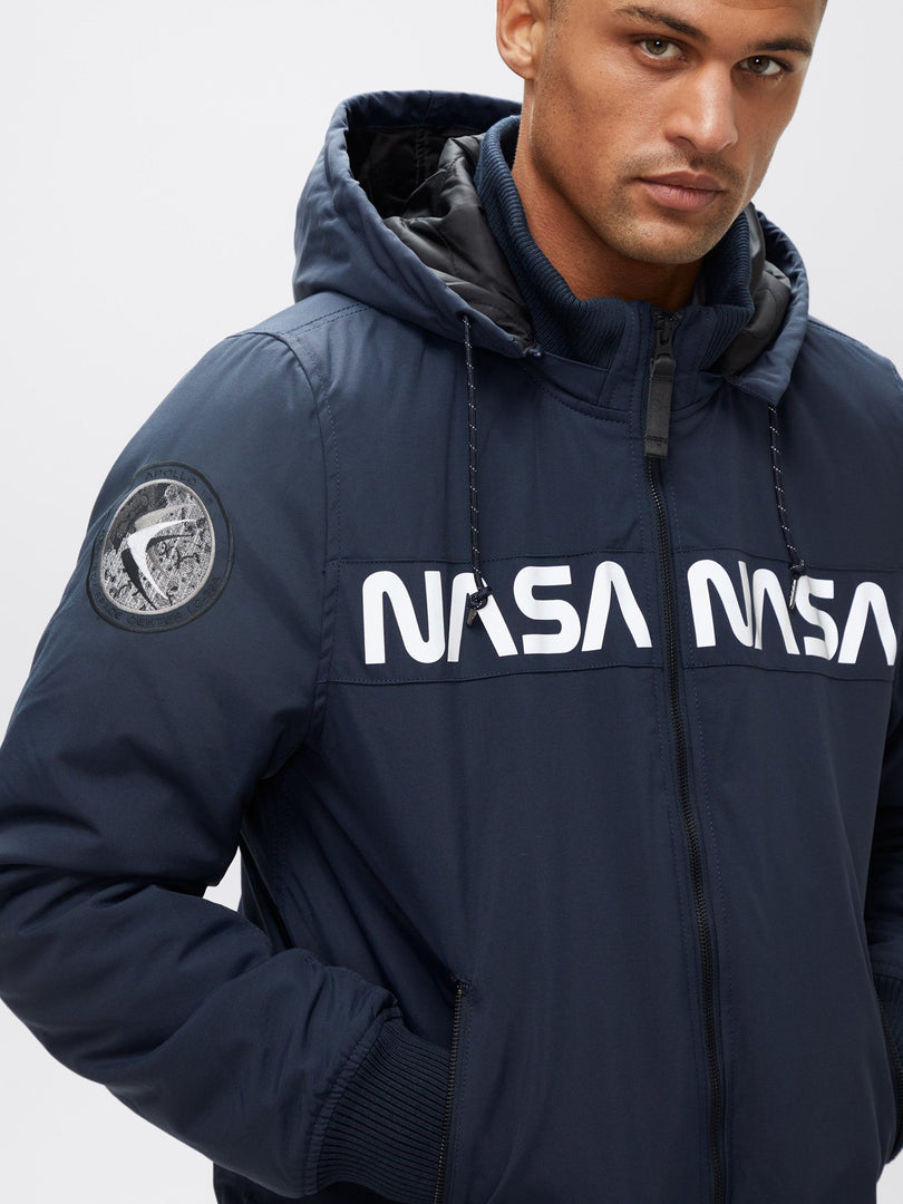 MA-1 HOODED NASA II FLIGHT JACKET OUTERWEAR Alpha Industries, Inc.