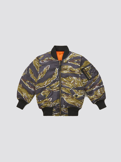 MA-1 JACKET Y (SEASONAL) SALE Alpha Industries TIGER CAMO 2T