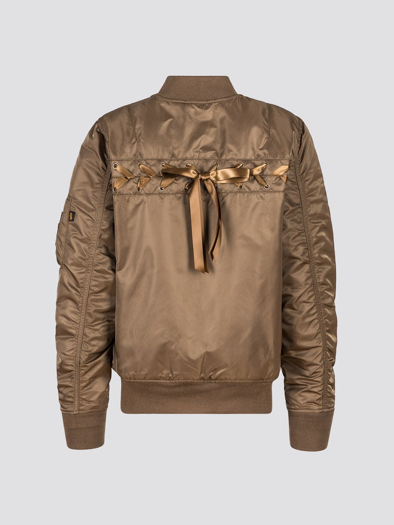 MA-1 LACED FLIGHT JACKET W SALE Alpha Industries COYOTE BROWN XL