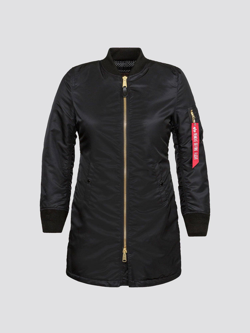 MA-1 LONG W SALE Alpha Industries BLACK L