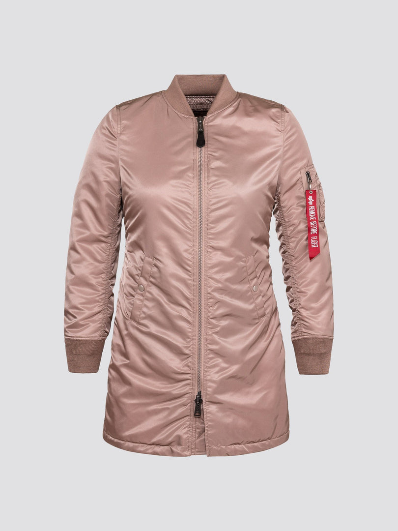MA-1 LONG W SALE Alpha Industries MAUVE XL