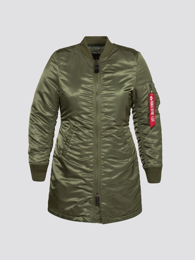 MA-1 LONG W SALE Alpha Industries SAGE L