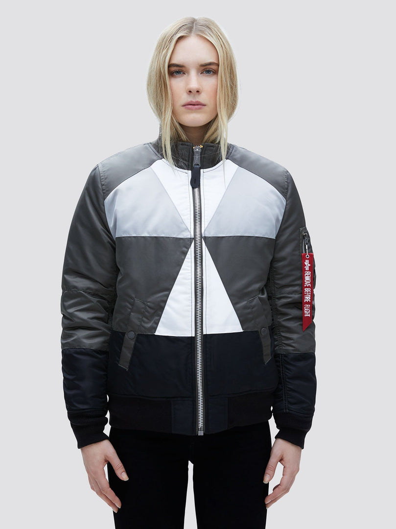 MA-1 MOSAIC BOMBER JACKET W SALE Alpha Industries BLACK MULTI L