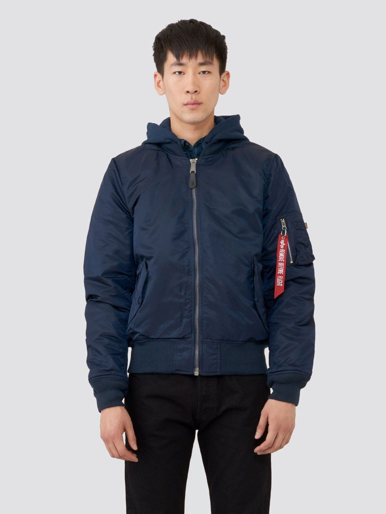 MA-1 NATUS BOMBER JACKET OUTERWEAR Alpha Industries REP BLUE /BLUE NO. 9 LINING 2XL
