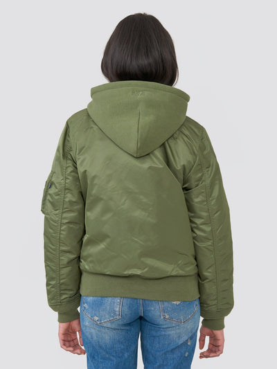 MA-1 NATUS BOMBER JACKET W OUTERWEAR Alpha Industries
