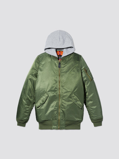 MA-1 NATUS BOMBER JACKET Y OUTERWEAR Alpha Industries SAGE 10/12