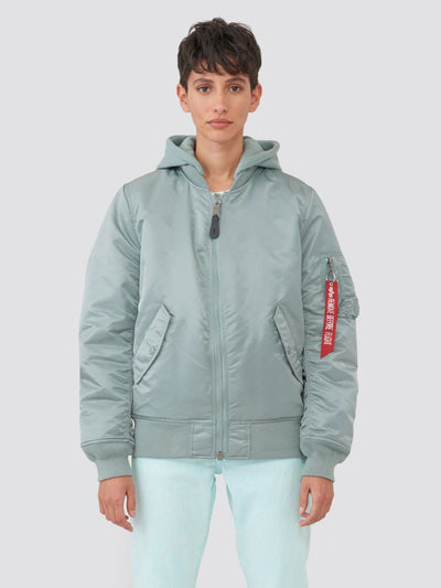 MA-1 NATUS W (SEASONAL) SALE Alpha Industries SILVER BLUE XS