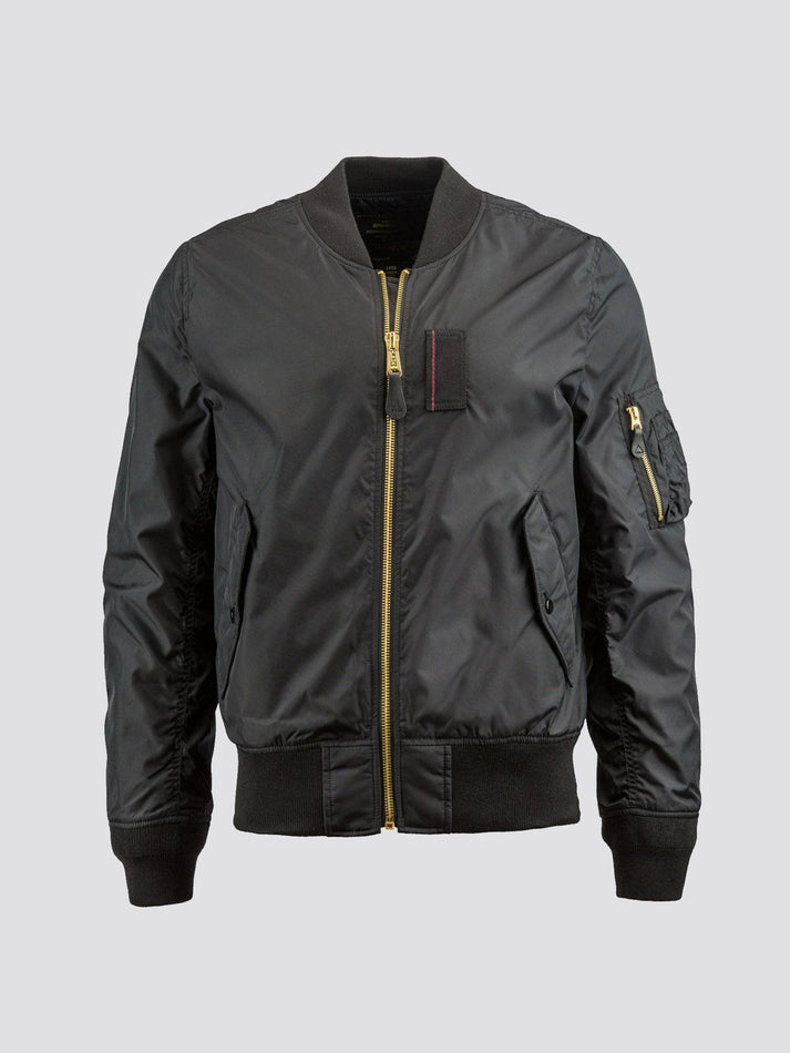 MA-1 SKYMASTER BOMBER JACKET OUTERWEAR Alpha Industries BLACK 2XL