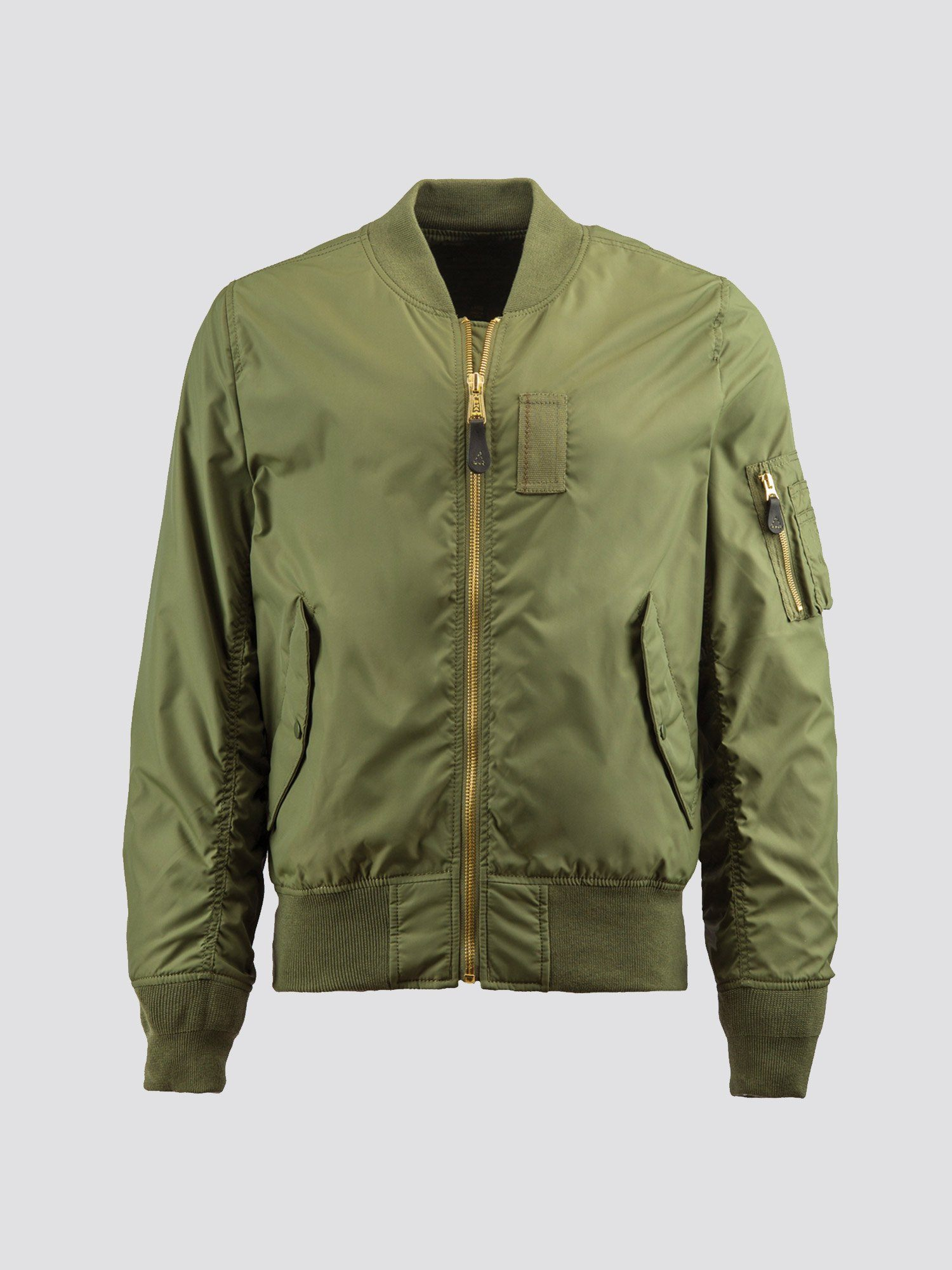 Alpha Industries MA-1 Skymaster Lightweight Flight Jacket Replica Blue MSRP $140