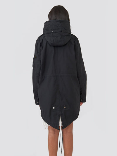 MERI FISHTAIL FIELD COAT W SALE Alpha Industries