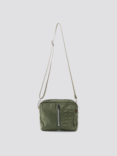 MILITARY PACK SACOCHE ACCESSORY Alpha Industries VINTAGE GREEN O/S