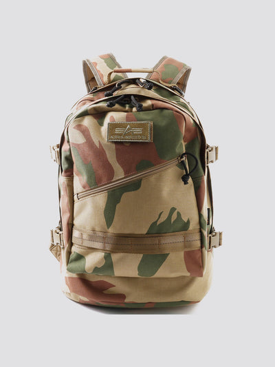 MISSION BACKPACK ACCESSORY Alpha Industries WOODLAND CAMO O/S