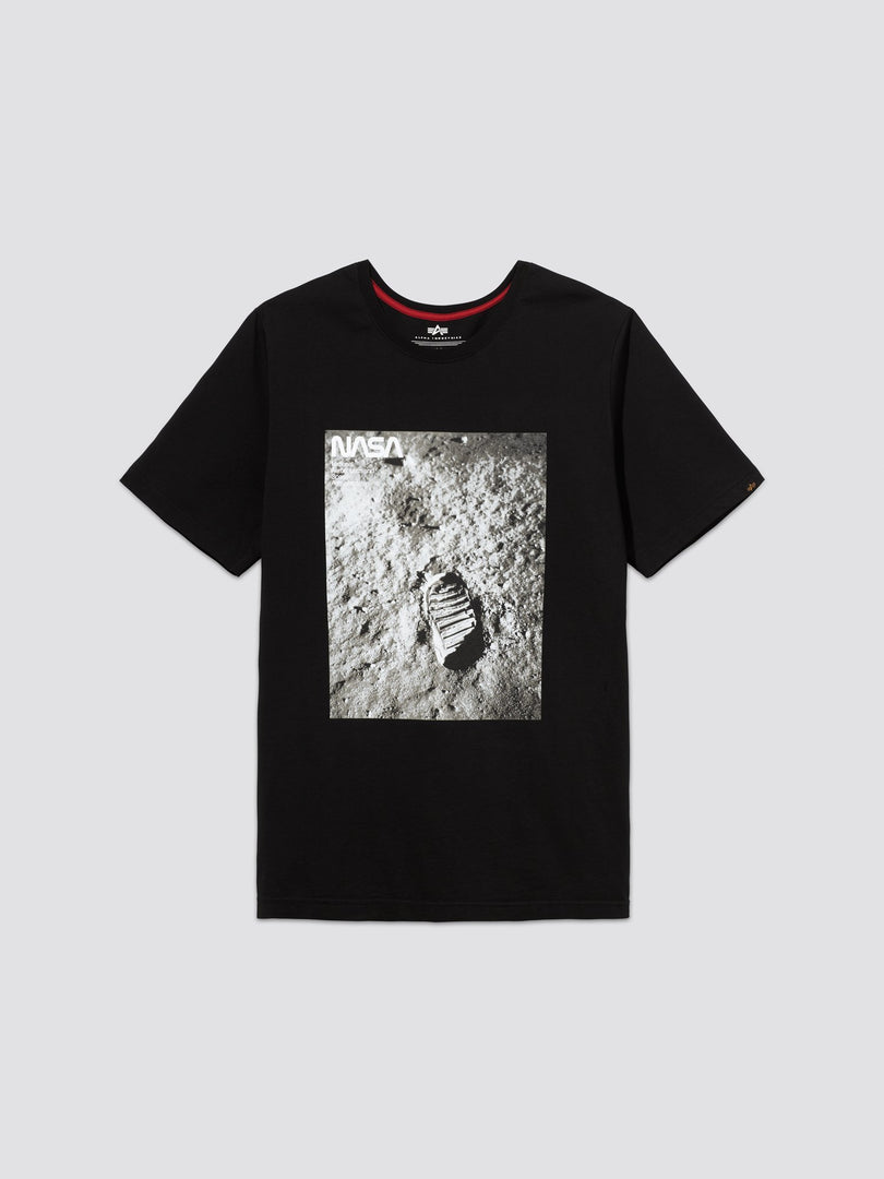MOON LANDING TEE TOP Alpha Industries, Inc. BLACK 2XL