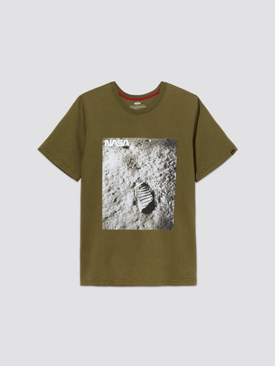 MOON LANDING TEE TOP Alpha Industries, Inc. OLIVE 2XL
