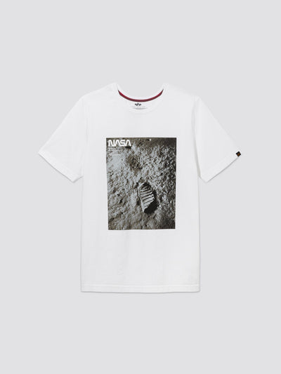 MOON LANDING TEE TOP Alpha Industries, Inc. WHITE 2XL
