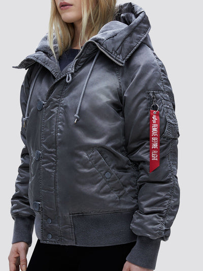 N-2B BATTLEWASH PARKA W OUTERWEAR Alpha Industries