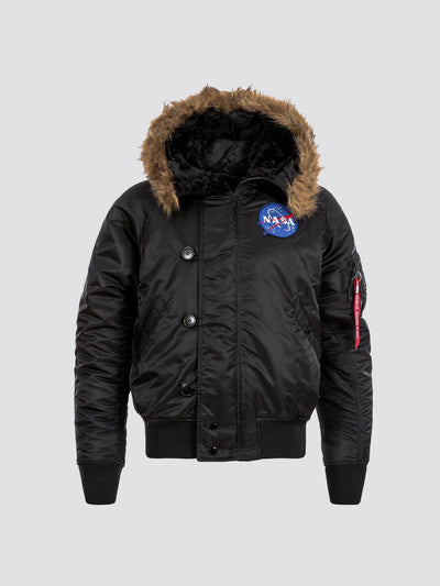 N-2B NASA PARKA OUTERWEAR Alpha Industries BLACK 2XL