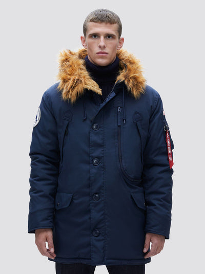 N-3B ALPINE PARKA OUTERWEAR Alpha Industries REPLICA BLUE 2XL