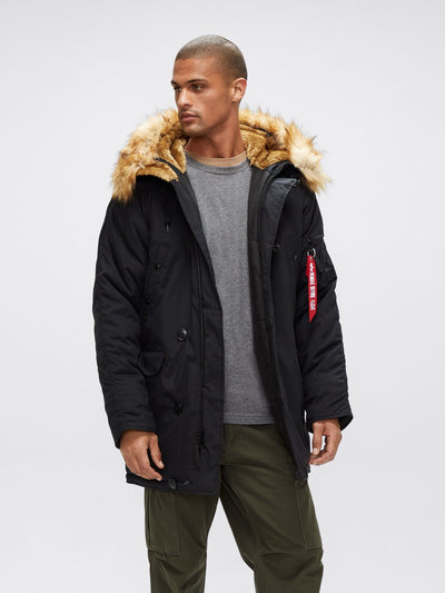 N-3B ALTITUDE GEN II PARKA OUTERWEAR Alpha Industries, Inc. BLACK 2XL
