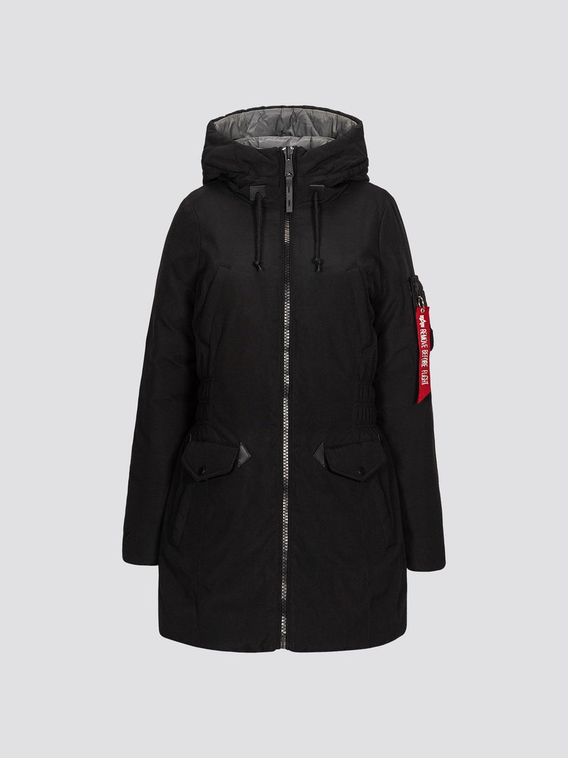 N-3B DOWN PARKA W SALE Alpha Industries BLACK L