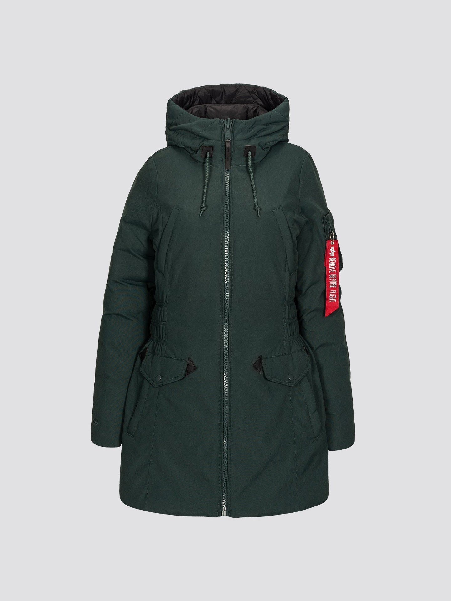 N-3B DOWN PARKA W SALE Alpha Industries PATROL GREEN L