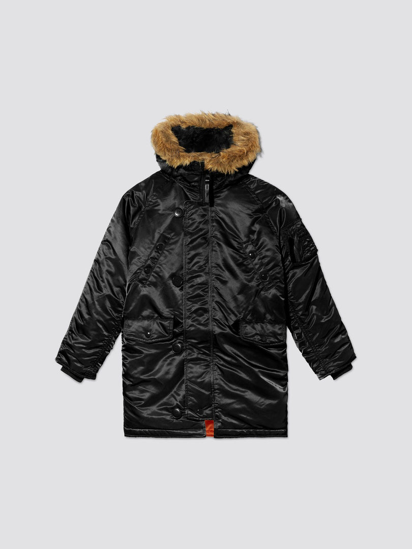 N-3B PARKA Y OUTERWEAR Alpha Industries BLACK 2T