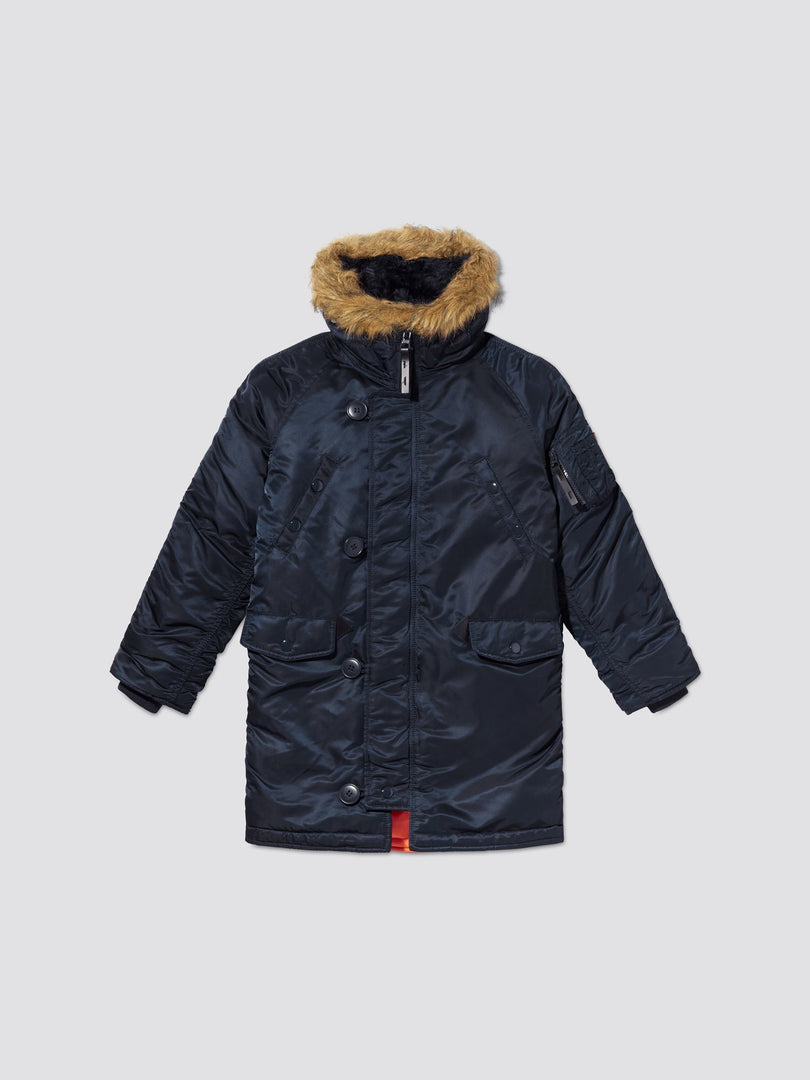 N-3B PARKA Y OUTERWEAR Alpha Industries REPLICA BLUE 2T