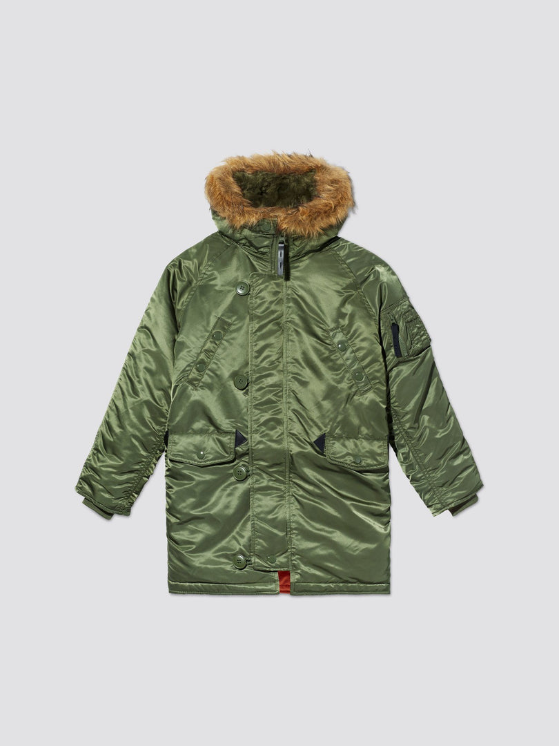 N-3B PARKA Y OUTERWEAR Alpha Industries SAGE GREEN 2T