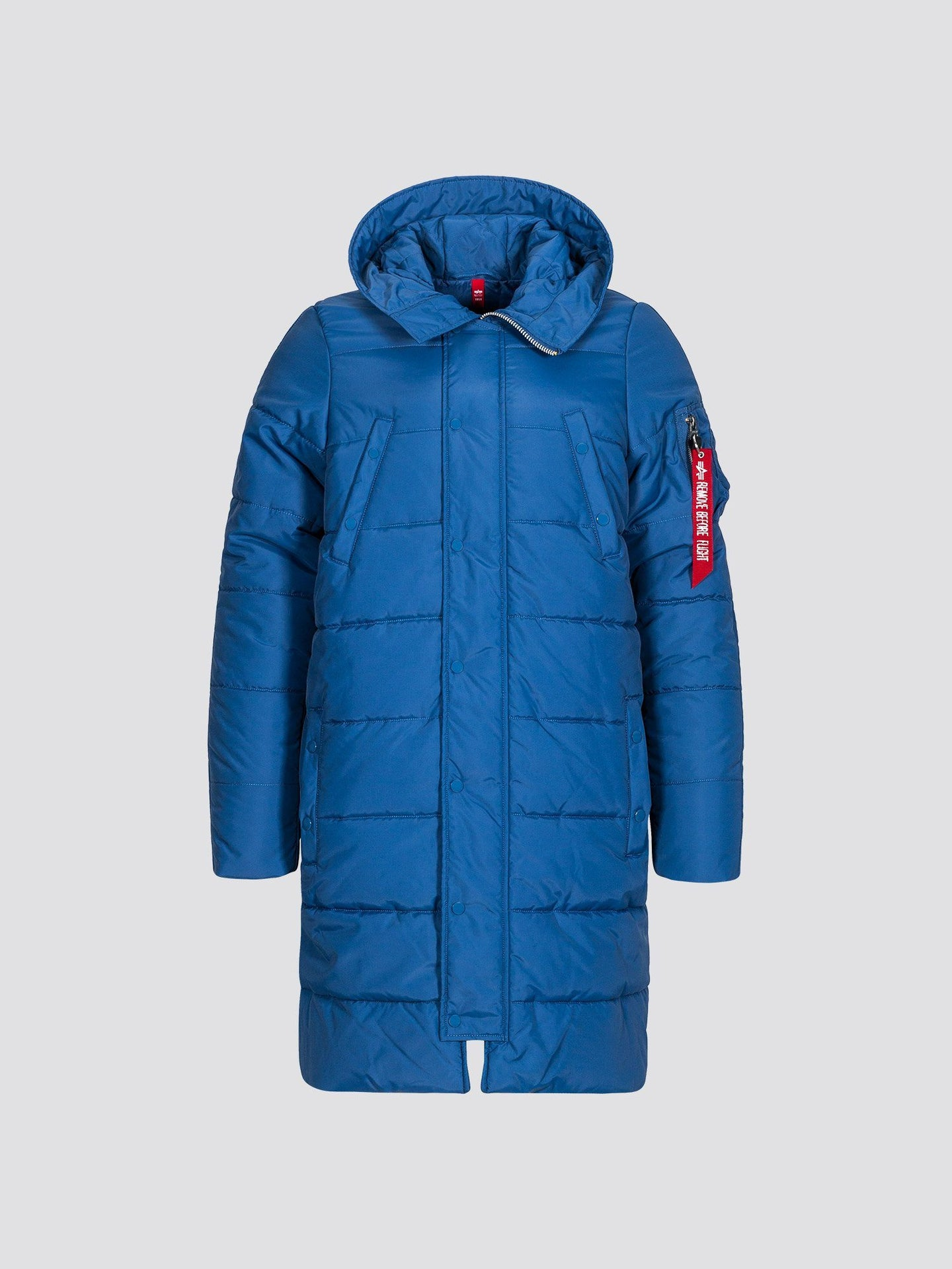 N-3B REVERB PARKA OUTERWEAR Alpha Industries BLUE NO. 9 S