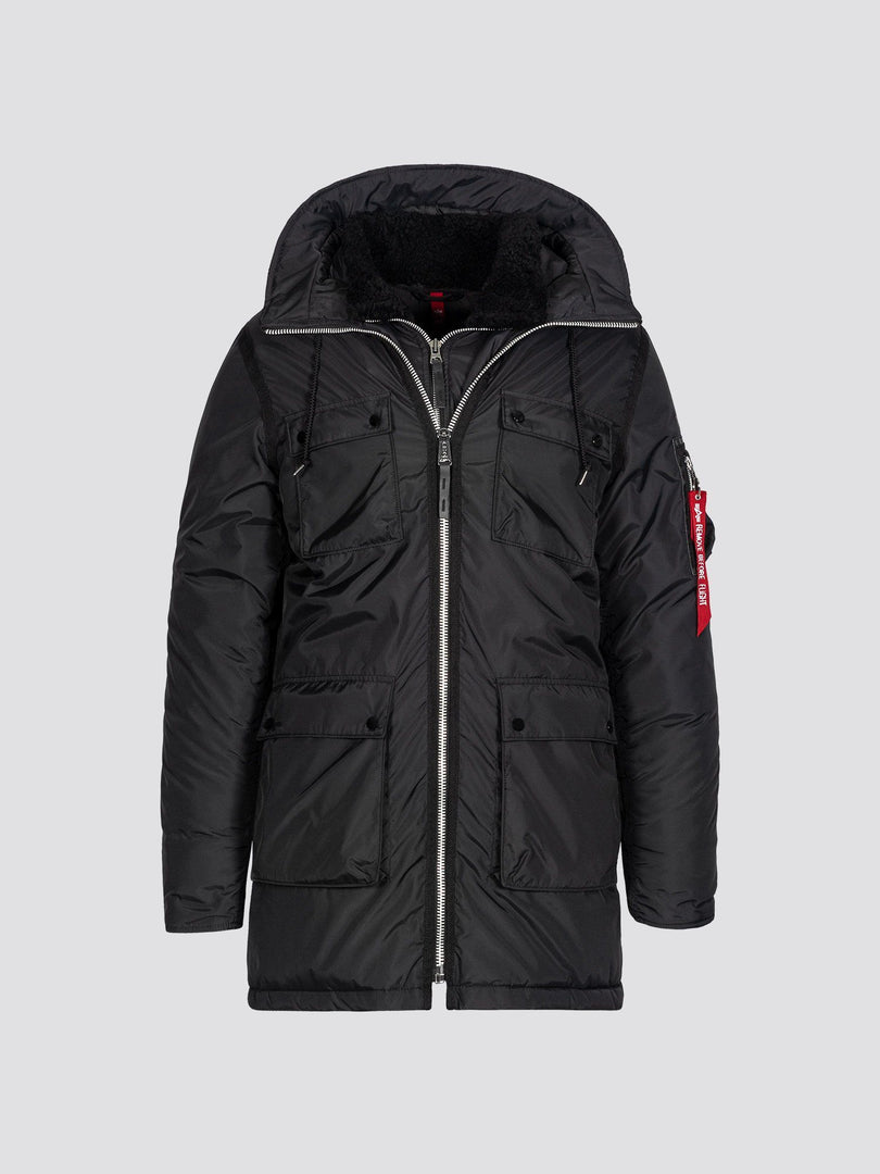 N-3B SKYTRAIN PARKA OUTERWEAR Alpha Industries BLACK 3XL