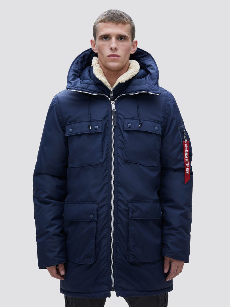 N-3B SKYTRAIN PARKA OUTERWEAR Alpha Industries REPLICA BLUE 2XL