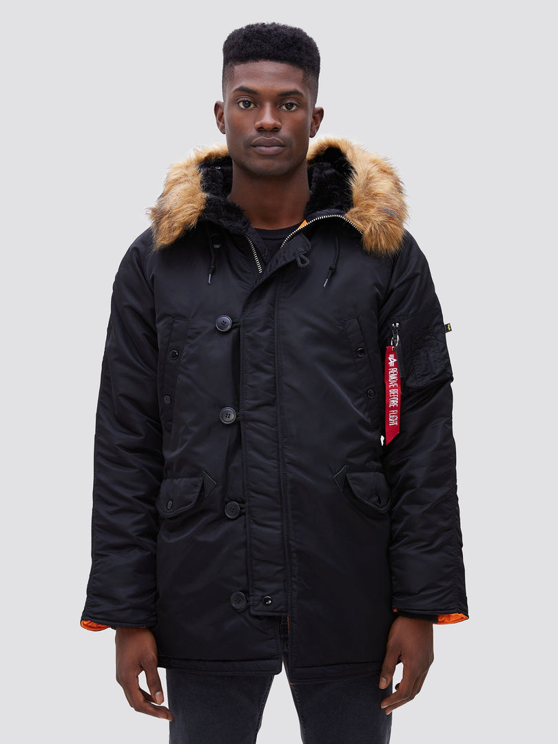 N-3B SLIM FIT GEN I PARKA OUTERWEAR Alpha Industries BLACK XS