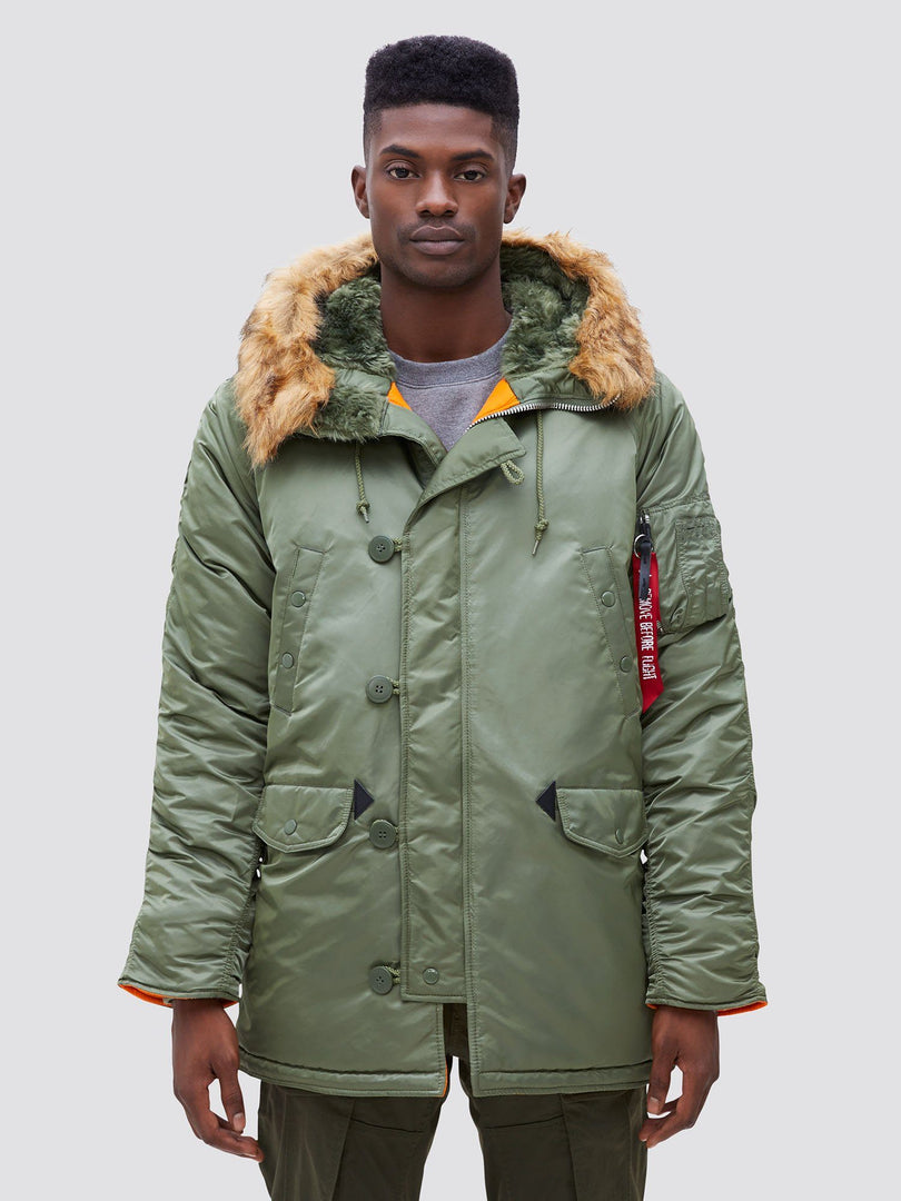N-3B SLIM FIT GEN I PARKA OUTERWEAR Alpha Industries SAGE XS