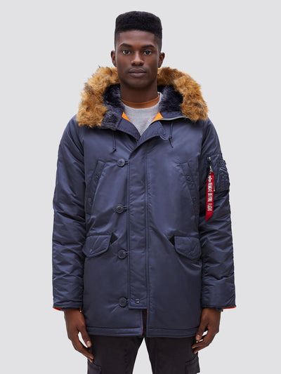 N-3B SLIM FIT GEN I PARKA OUTERWEAR Alpha Industries STEEL BLUE XS