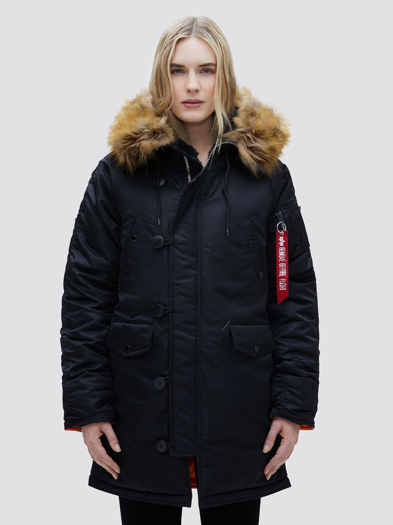 N-3B W PARKA OUTERWEAR Alpha Industries BLACK L