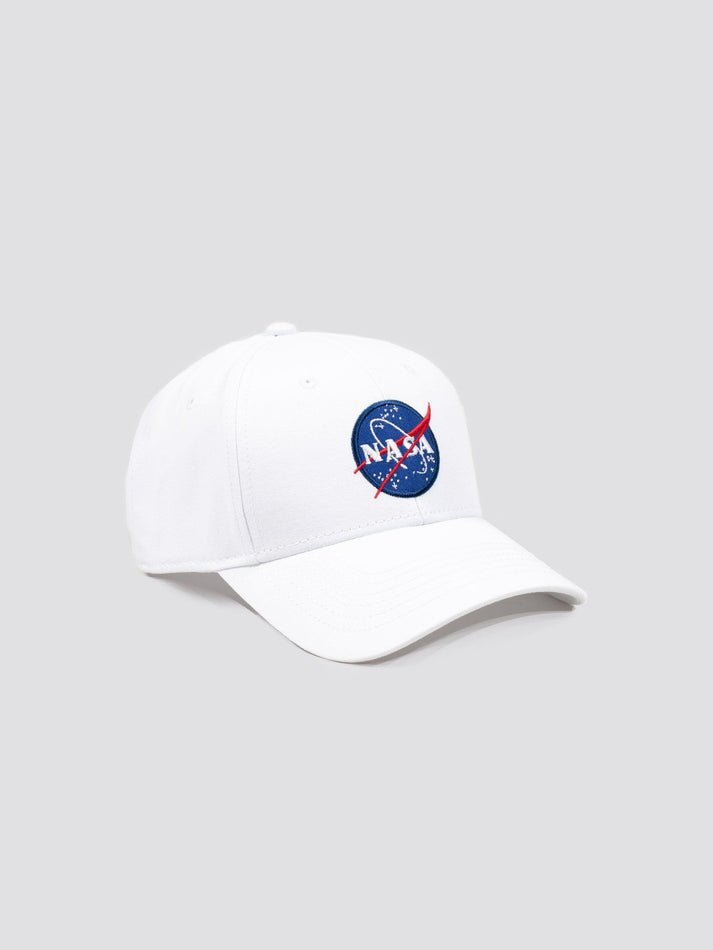 NASA CAP ACCESSORY Alpha Industries WHITE O/S