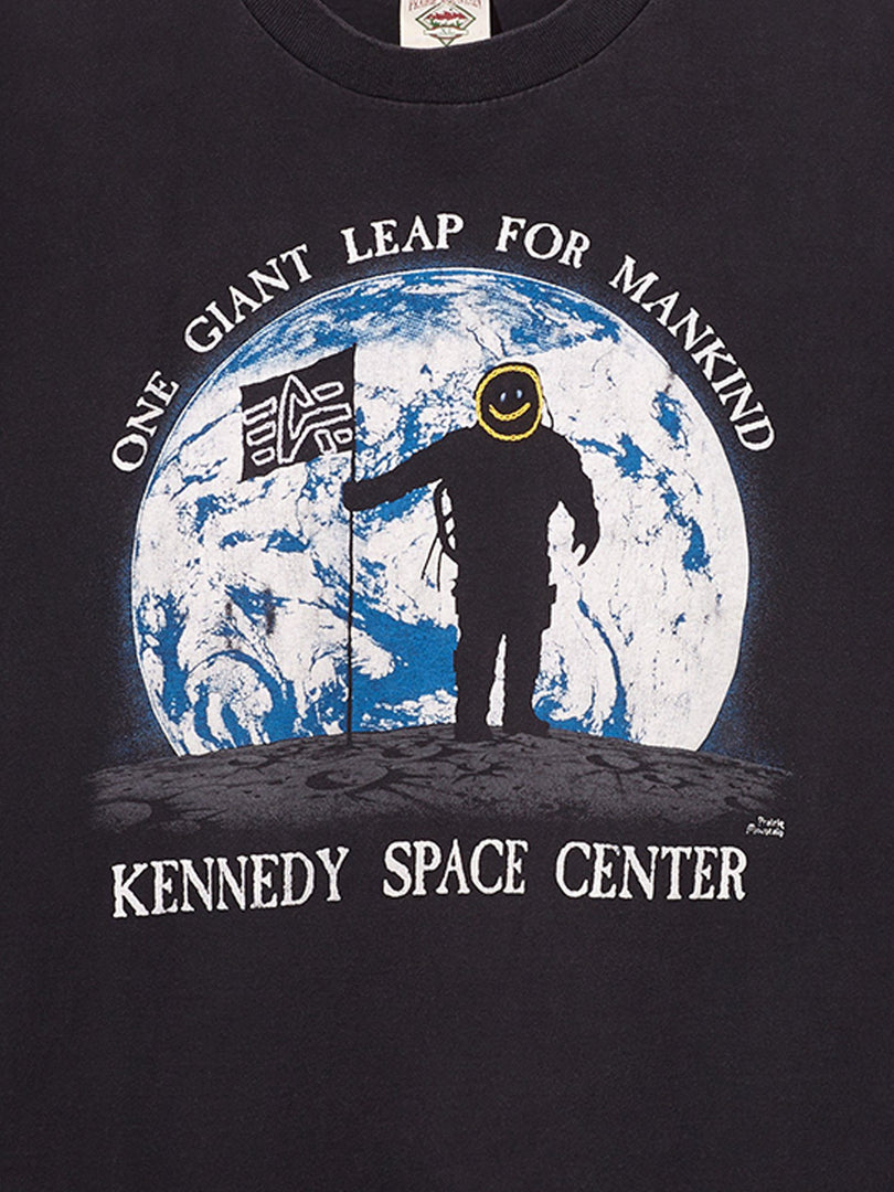 NASA CHAIN STITCH GIANT LEAP TEE TOP Alpha Industries, Inc.
