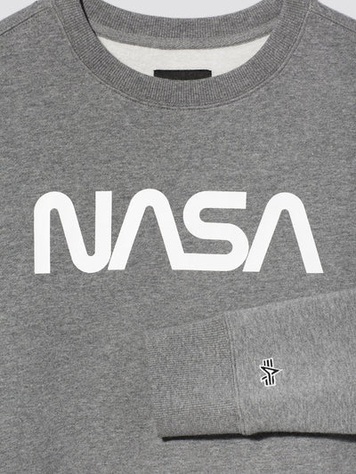 NASA II CREW SWEATSHIRT TOP Alpha Industries, Inc.