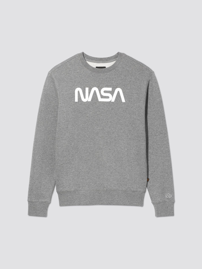 NASA II CREW SWEATSHIRT TOP Alpha Industries, Inc. MEDIUM CHARCOAL HEATHER 2XL