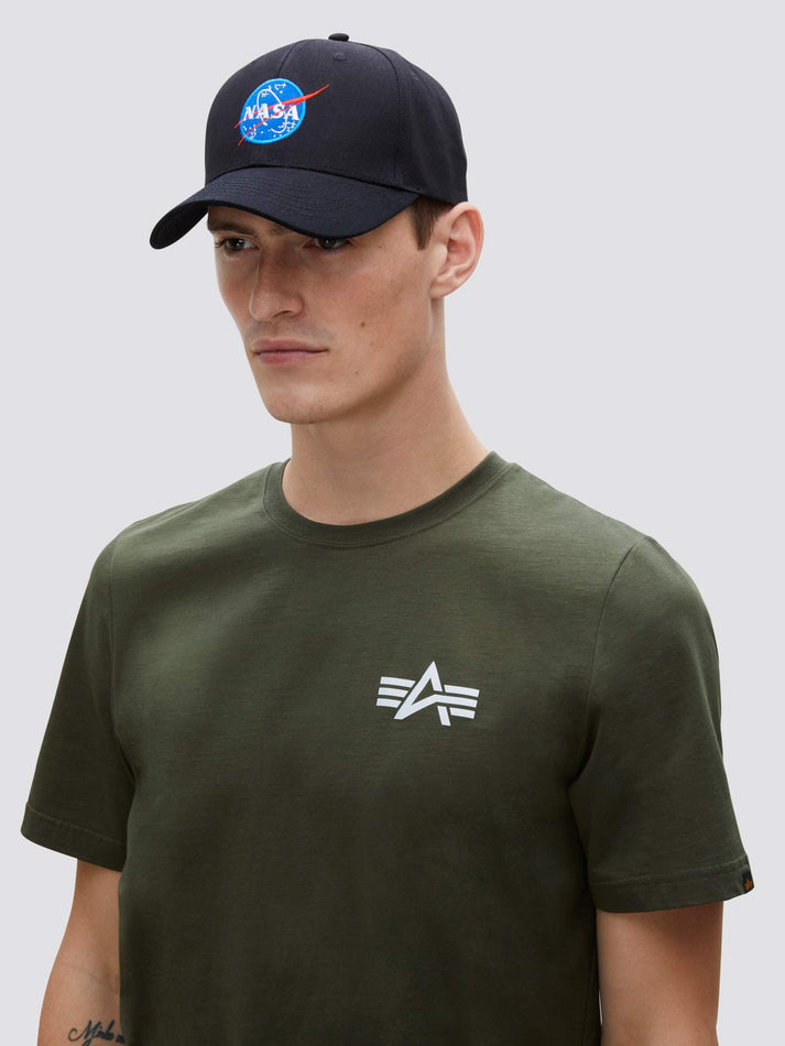 NASA LOGO CAP ACCESSORY Alpha Industries, Inc. BLACK O/S