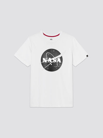 NASA LOGO TEE TOP Alpha Industries, Inc. WHITE 2XL