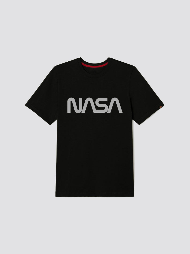 NASA REFLECTIVE TEE TOP Alpha Industries, Inc. BLACK 2XL