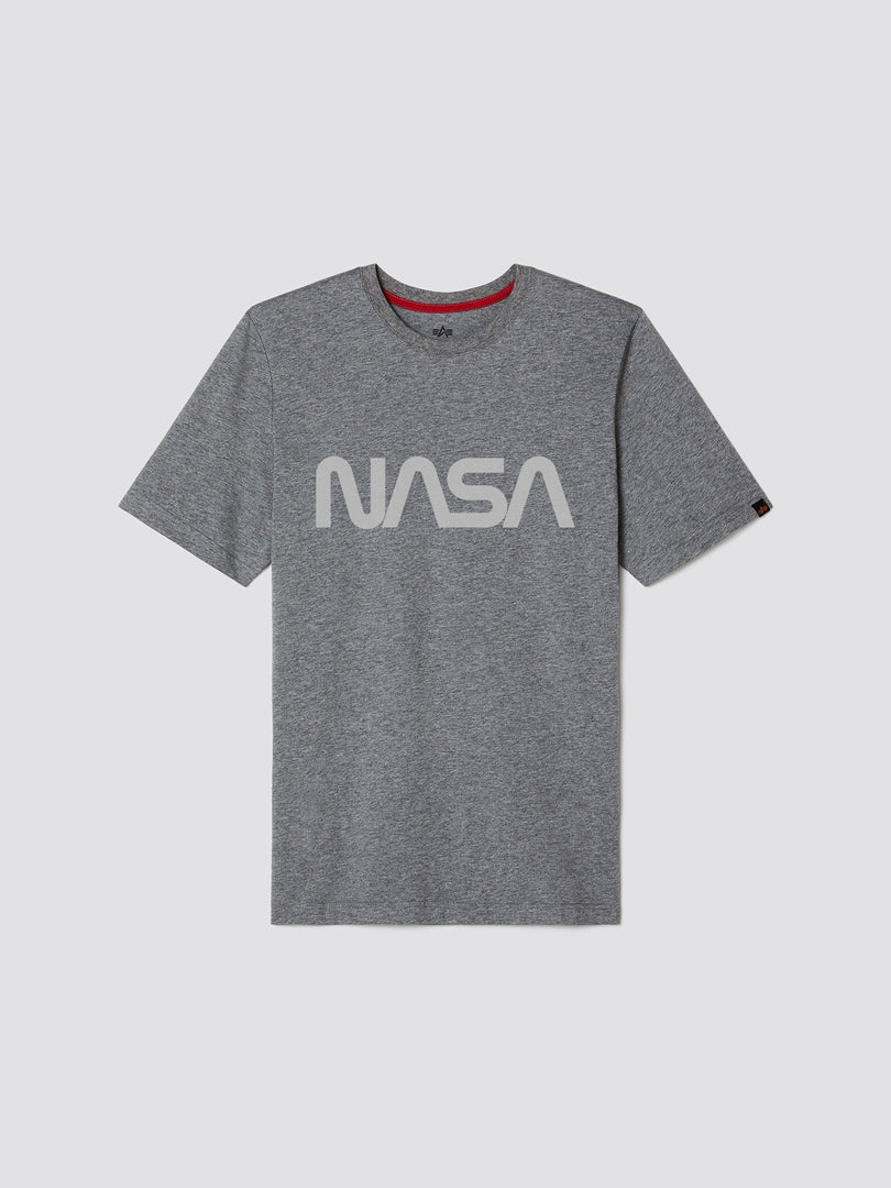 NASA REFLECTIVE TEE TOP Alpha Industries, Inc. MEDIUM CHARCOAL HEATHER 2XL