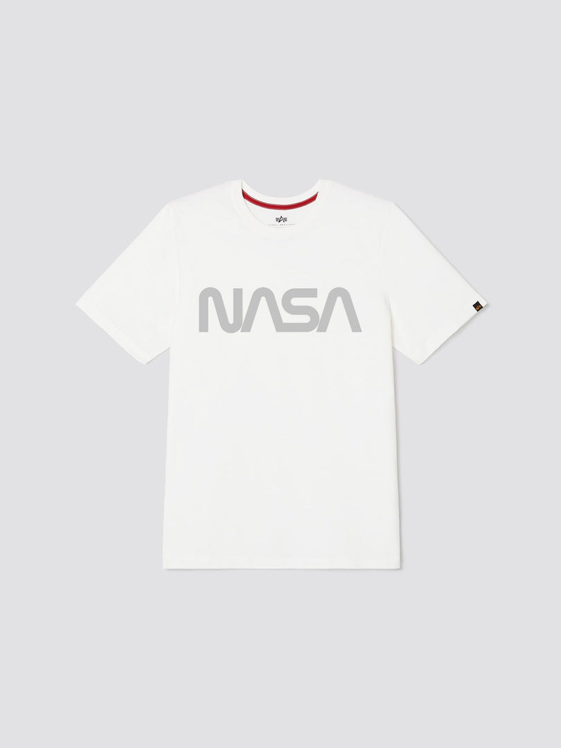 NASA REFLECTIVE TEE TOP Alpha Industries, Inc. WHITE 2XL